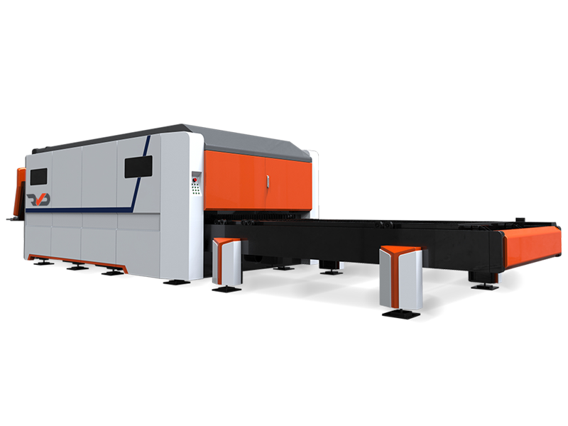 SmartFibre Laser Cutting Machine - Rear view