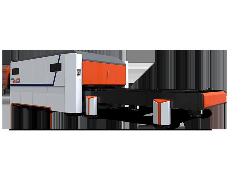 SmartFibre Laser Cutting Machine - Rear view